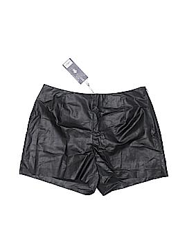 Jennifer Lopez Faux Leather Shorts Size 8