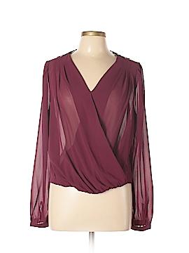 Double Zero Long Sleeve Blouse Size L