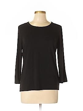 Jones New York 3/4 Sleeve T-Shirt Size L (Petite)