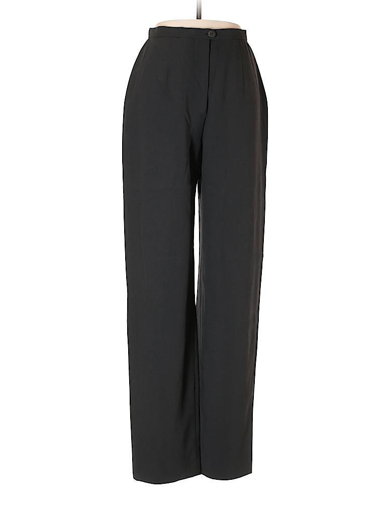 Giorgio Armani Women Wool Pants Size 40 (IT)