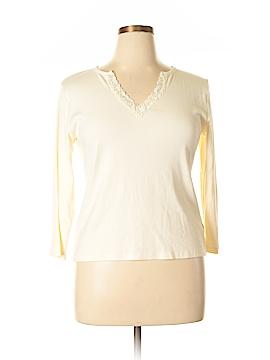Sigrid Olsen Long Sleeve Top Size XL