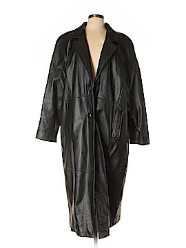 Jacqueline Ferrar Leather Jacket Size XL