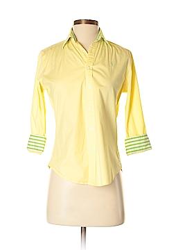 Ralph Lauren Sport 3/4 Sleeve Button-Down Shirt Size 4