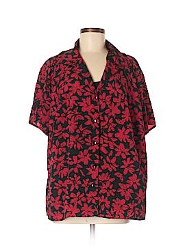 Elementz Short Sleeve Blouse Size 2X (Plus)