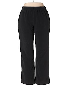Lands' End Fleece Pants Size L