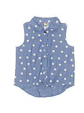 Healthtex Sleeveless Button-Down Shirt Size 4T