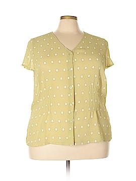 Emma James Short Sleeve Blouse Size 22W (Plus)