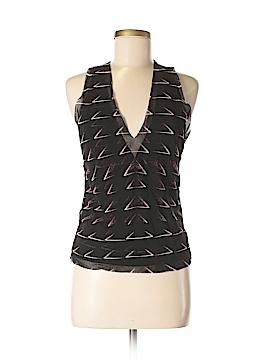 Vivienne Tam Sleeveless Blouse Size Lg (3)