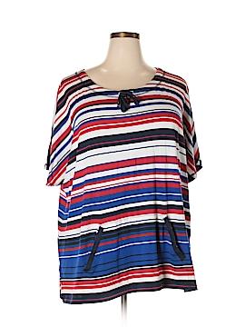Ruby Rd. Short Sleeve T-Shirt Size 3X (Plus)
