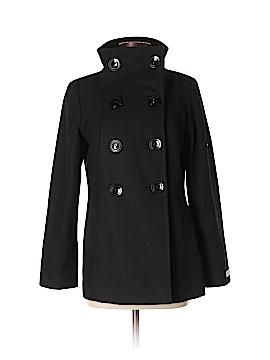 Calvin Klein Wool Coat Size 4 (Petite)
