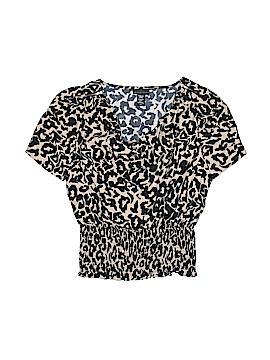 Apostrophe Short Sleeve Blouse Size L