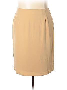 Jones New York Silk Skirt Size 24 (Plus)