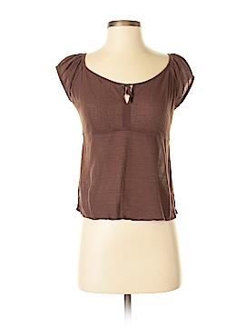 Monsoon Short Sleeve Blouse Size 38 (EU)