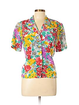 Impressions Short Sleeve Blouse Size 10