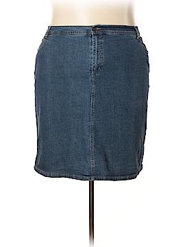 Jessica London Denim Skirt Size 20 (Plus)