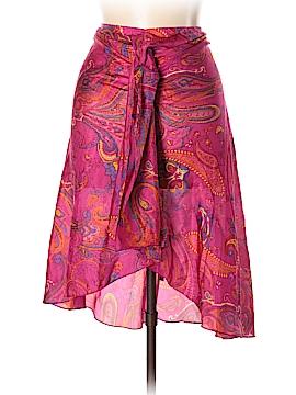 Lauren by Ralph Lauren Silk Skirt Size L