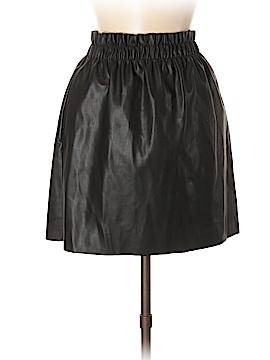 Zara Faux Leather Skirt Size M