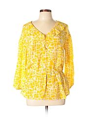 Girls from Savoy Long Sleeve Silk Top