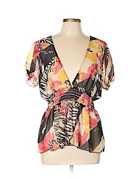 Metrostyle Short Sleeve Blouse Size 16