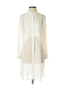 BCBGeneration Long Sleeve Silk Top Size S