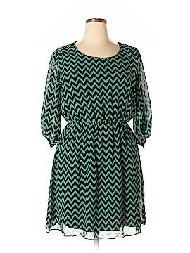 Espresso Casual Dress Size 1X (Plus)