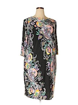 Bob Mackie Casual Dress Size 1X (Plus)