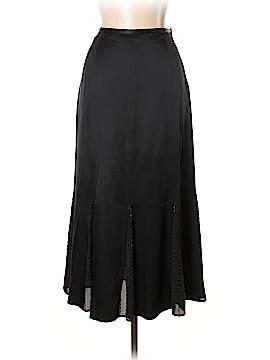 Garnet Hill Silk Skirt Size 10