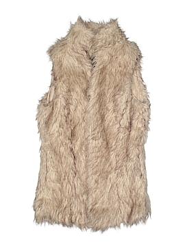 Me Jane Faux Fur Vest Size S