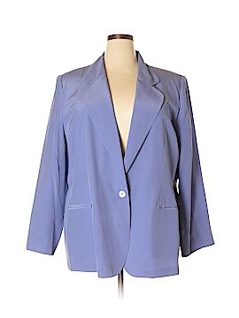 Stephanie Andrews Silk Blazer Size 24 (Plus)