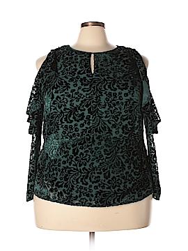 Nanette Lepore 3/4 Sleeve Blouse Size 1X (Plus)