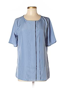 Pendleton Short Sleeve Blouse Size 6 (Tall)