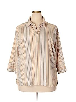 DCC 3/4 Sleeve Blouse Size 3X (Plus)