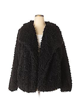 CoffeeShop Faux Fur Jacket Size 2X (Plus)
