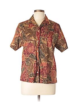 Tori Richard Short Sleeve Button-Down Shirt Size M