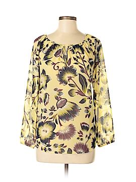 Ann Taylor LOFT 3/4 Sleeve Button-Down Shirt Size M