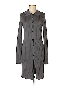 David Brooks Silk Cardigan Size M