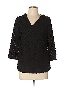 Draper's & Damon's 3/4 Sleeve Blouse Size L