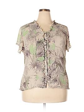 Covington Short Sleeve Blouse Size 18W (Plus)