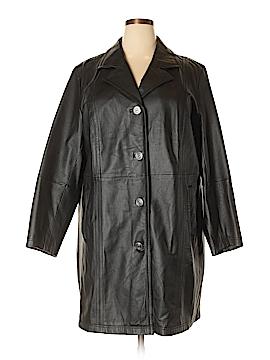 Maggie Barnes Faux Leather Jacket Size 18 - 20 (Plus)