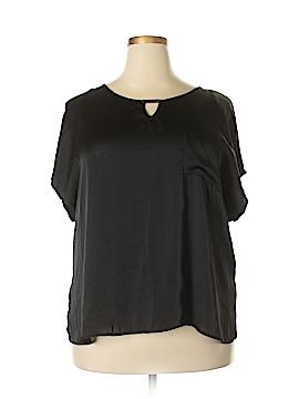 Elementz Short Sleeve Blouse Size 3X (Plus)