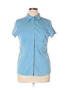 Como Short Sleeve Button-Down Shirt Size XL