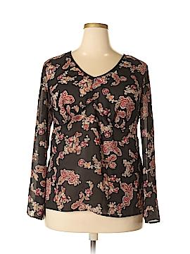 Venezia Long Sleeve Blouse Size 14 (Plus)