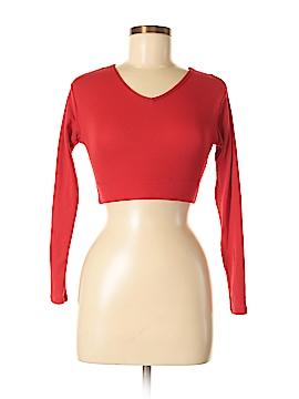 Varsity Long Sleeve Top Size M