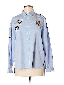 White House Black Market Long Sleeve Button-Down Shirt Size M