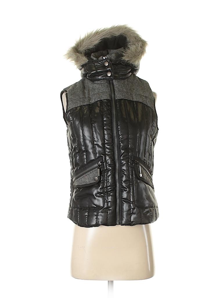 New York Yoki Collection Women Faux Fur Vest Size S