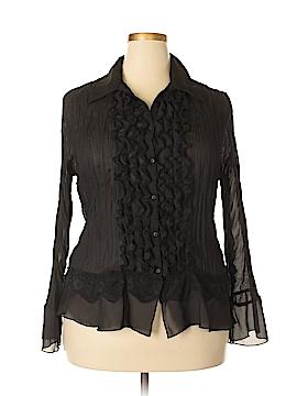 Allison Taylor Long Sleeve Blouse Size 1X (Plus)