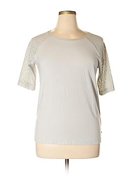 Garnet Hill Short Sleeve Top Size L