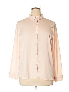 Metaphor Long Sleeve Blouse Size XL