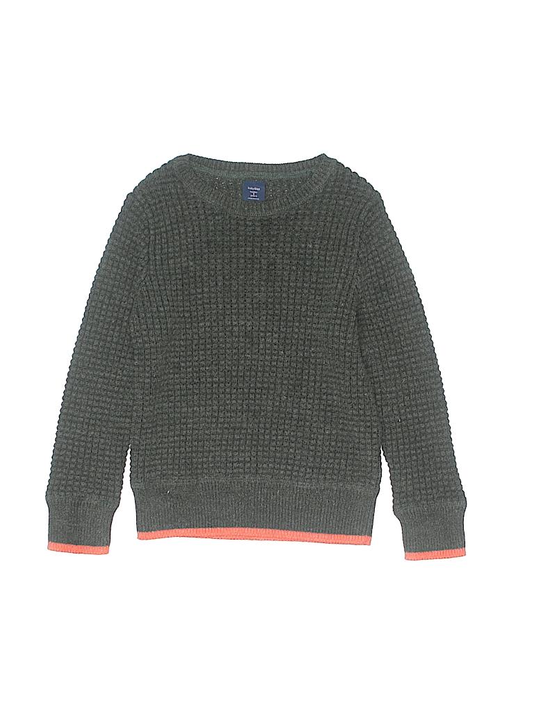 2ba7b850bd9d Baby Gap Color Block Dark Green Pullover Sweater Size 5 - 60% off ...