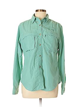 L.L.Bean Long Sleeve Button-Down Shirt Size M